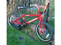 Free Agent team expert 2012 frame/forks custom built race bmx, mostly new parts