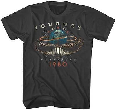 Journey Departure 1980 Adult T Shirt Rock Music