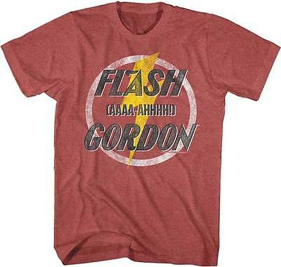 Flash Gordon AAAA AHHHH Adult T Shirt Classic 80's Movie - Adult Movies Cheap