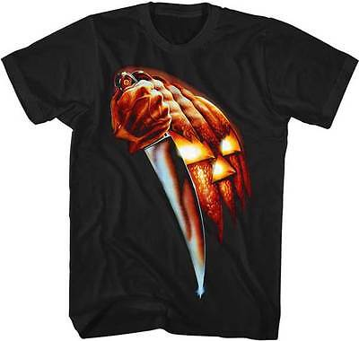 Halloween Pumpkin Knife Adult T Shirt Great Classic Movie