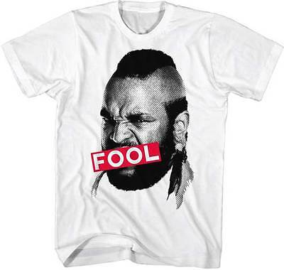 Mr T 1980S Tv Show The A Team Censored Fool Adult T Shirt