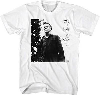 Halloween Michael Myers He's Watching You Adult T Shirt Great Classic Movie - Halloween Movie Watching