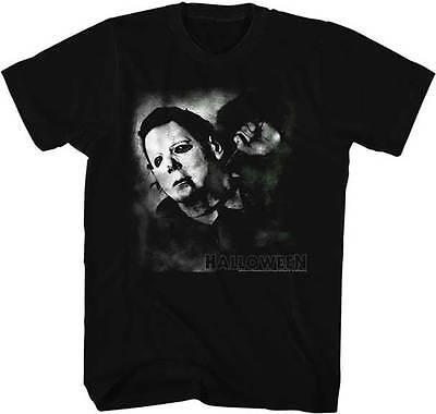 ers Büste Erwachsene T-Shirt Great Filmklassiker (Filmes Halloween-michael Myers)