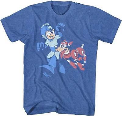 Mega Man Lets Go Capcom Video Game Adult T Shirt