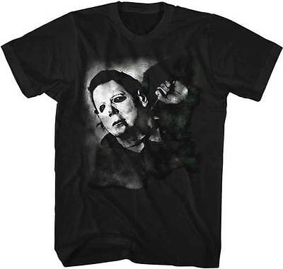 Halloween Michael Myers Is Watching You Adult T Shirt Great Scary Movie - Is Halloween Scary