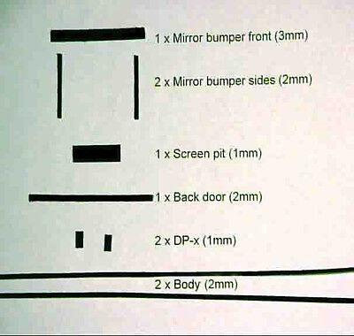 Complete Nikon F2 foam (light seal) kit for Repair