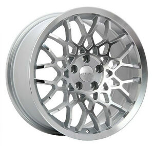Roues (Mags) Ruffino Meister 18 pouces argent - façade diamant