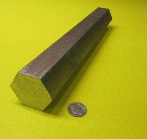 "6061 Aluminum Hex Rod 1.75"" Hex x 1 Ft Length"