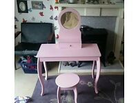 Child's dressing table (mia style rrp £70 argos)