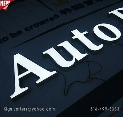 New Channel Letter18 - Business Led Sign Letters - Custom Made