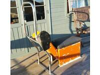 Rib/fishing boat centre console and stainless steel frame