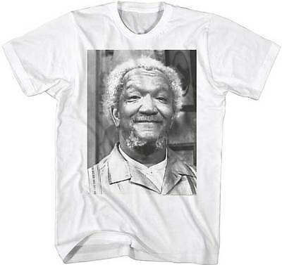Sanford   Son Funny Tv Show Black   White Photo Adult T Shirt Redd Foxx