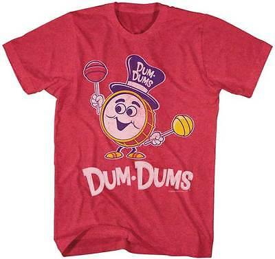 Dum Dums Candy Suckers Happy Drum Man With Dum Dums Adult T Shirt