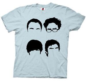 THE-BIG-BANG-THEORY-HAIRLINES-HAIR-SHELDON-LEONARD-t-shirt-tee-M-L-XL-2XL-XXL