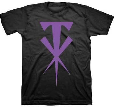 WWE The Undertaker Symbol Men's Small S Short Sleeve - Wwe Symbol