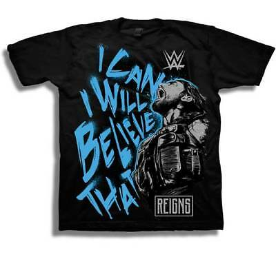 Roman Reigns Kids (Roman Reigns I Can I Will Youth Boys Kids Black)