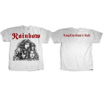 RAINBOW - Long Live Rock N Roll - T SHIRT S-2XL New Official Hi Fidelity Merch