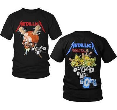 Metallica Damage Inc  S  M  L  Xl  2Xl  3Xl Black T Shirt