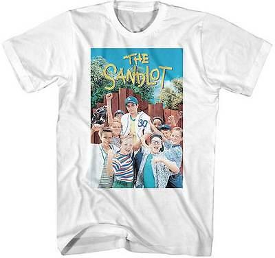The Sandlot TV Movie Adult T Shirt DVD Movie Poster (Adult Movie Tv)