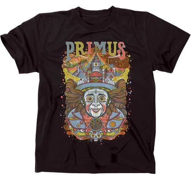 PRIMUS - Wonkahead - T SHIRT S-M-L-XL-2XL Brand New - Official T Shirt