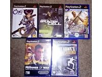 Joblot 5 Playstation 2 Games (PS2)