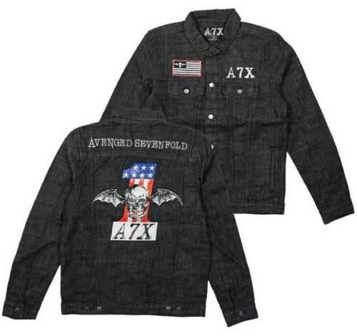 Avenged Sevenfold Mens Denim Jacket - Brand New