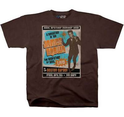 Brand New Men's Adult James Brown Soul Brother Number One Printed T-Shirt XL