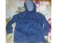 Boys children's hooded jacket age 5-6