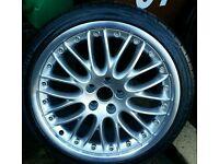 Audi BBS alloy wheels x5 split rims deep dish excellent condition