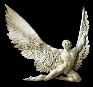 Icarus from ancient Greek mythology Wall Sculpture