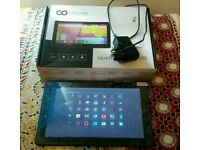 "10.1 "" go clever quantum 1010 lite android tablet 8gb 4.4.2 dual cam wifi"