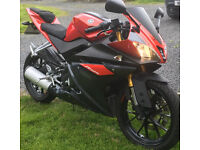 Yamaha YZF R125 16 plate Motorbike for Sale