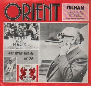 ORIENT-v-FULHAM-1979-1-January-FOOTBALL-PROGRAMME