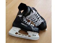 Nike Bauer Supreme One05 ice skates UK 10.5