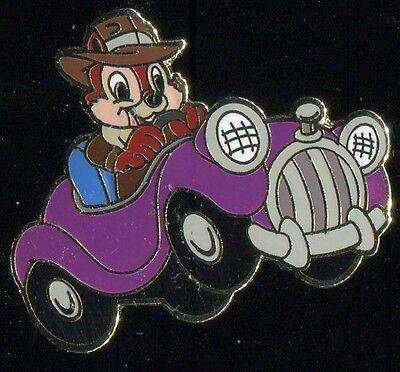 Aaa Travel Package Chip Purple Car Disney Pin 4345