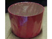 Small Hot Pink Lampshade