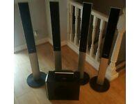 Samsung Home Cinema Surround SOUND Speakers.