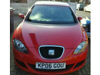 SEAT LEON 1.6 PETROL, CHERRY RED, 12 MONTHS MOT 64,5000 MILLEAGE, HPI CLEAR