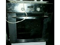 Electric Oven and halogen hob