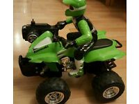 Remote control kawasaki quabike not rc car, bike , boat etc