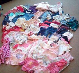 Baby Girls 6-9month Clothing Bundle