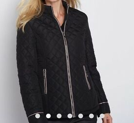 New Anne Weyburn Ladies Quilted Padded Jacket, size 16