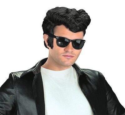 Adult 50s Greaser Grease Danny Zuko Costume Wig