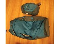 70L Hybrid Travel bag backpack Kathmandu