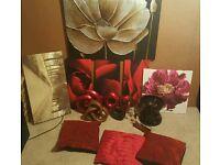 Room decorations canvas ornaments cushions next dunelm etc