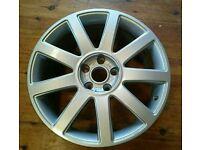 """AUDI 18"""" A4 A6 S-LINE RS4 ALLOY wheel 5X112"""