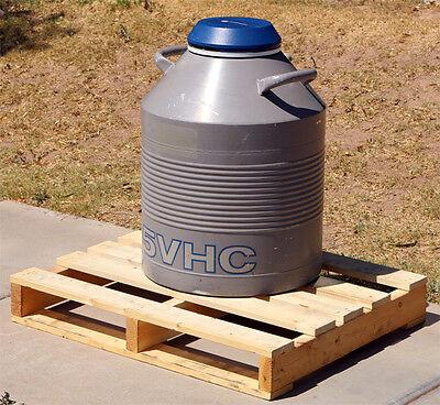 Taylor Wharton 35vhc 35-liter High-capacity Cryogenic Refrigerator Dewar