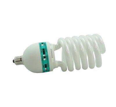 UK Ship Photo lighting studio 125W Daylight Spiral light  Bulb 5400k E27