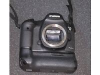 Canon DSLR 5d mark iii with battery grip