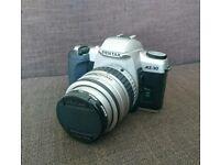Pentax MZ30 35mm film camera. Photography. SLR.